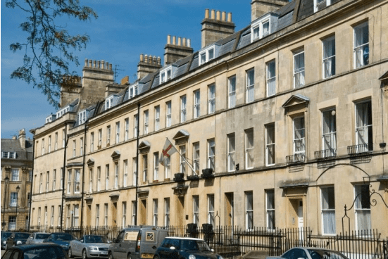 Hen party houses in Bath