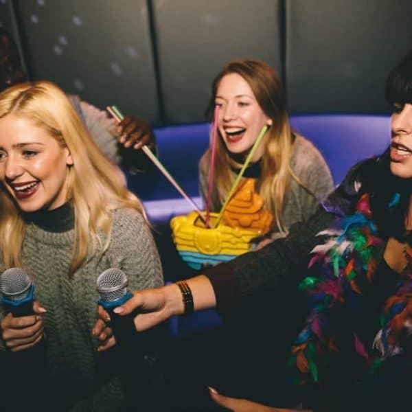 Lucky Voice karaoke hen party
