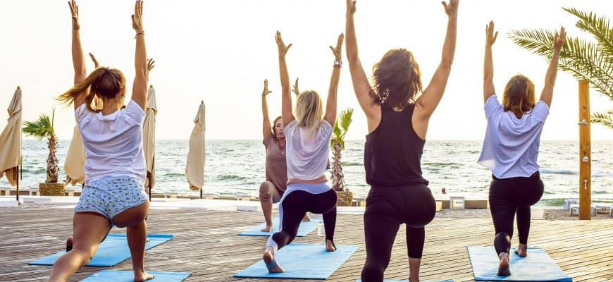 yoga hen party