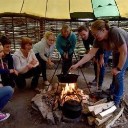 Bushcraft Bash – Outdoor Hen Parties in Wales