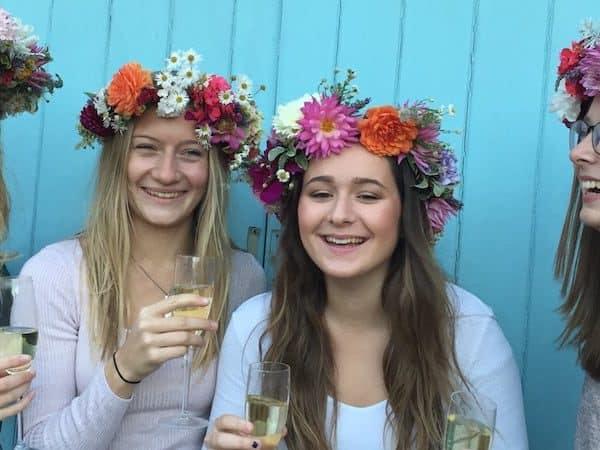 Floral & Flower Crown Hen Parties In Cambridge