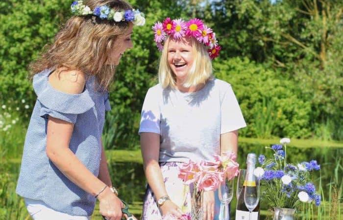 Flower Crown Hen Party Workshop in Norfolk