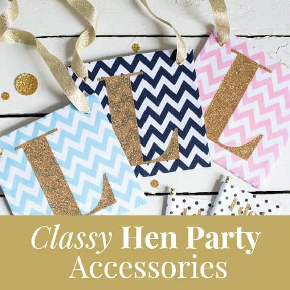 Classy Hen Party Accessories
