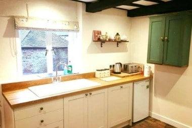 hen party house kitchen