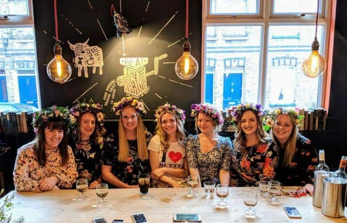 Flower Crown Hen Party Workshops In Bedfordshire