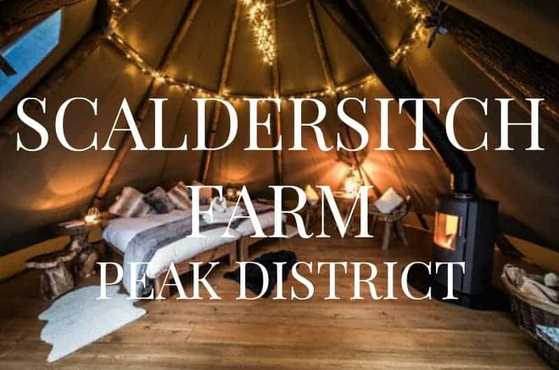 Glamping hen party in Peak District