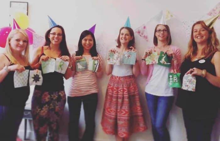 Craft hen party workshops