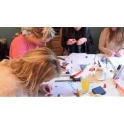 Sofi & Amia | Jewellery Making Hen Party Workshops In London