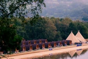 glamping hen party north wales