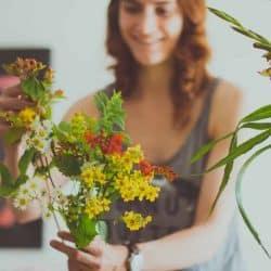 Blooming Green – Flower Crown Hen Parties In Kent