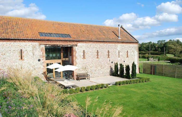 luxury hen party cottage in Norfolk