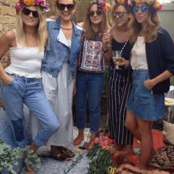 Grace & Thorn – Flower Crown Hen Party Workshops in London