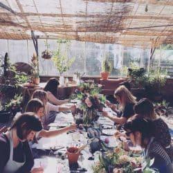 Kin – Floral Hen Party Workshops in Manchester & Devon