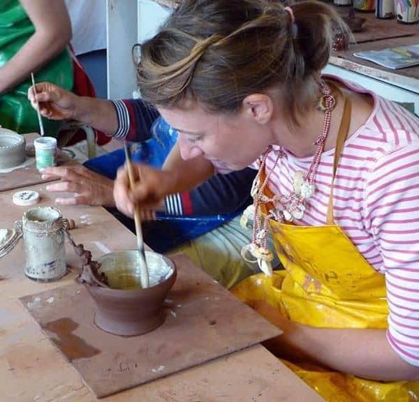 Pottery Hen Party Workshops in Dorset