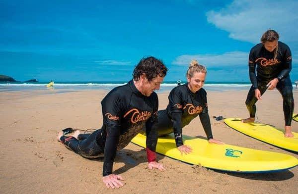 Surfing Hen Parties in Cornwall